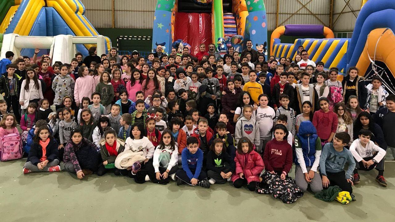 Navidad en Ourense.Apertura de Ribanadal