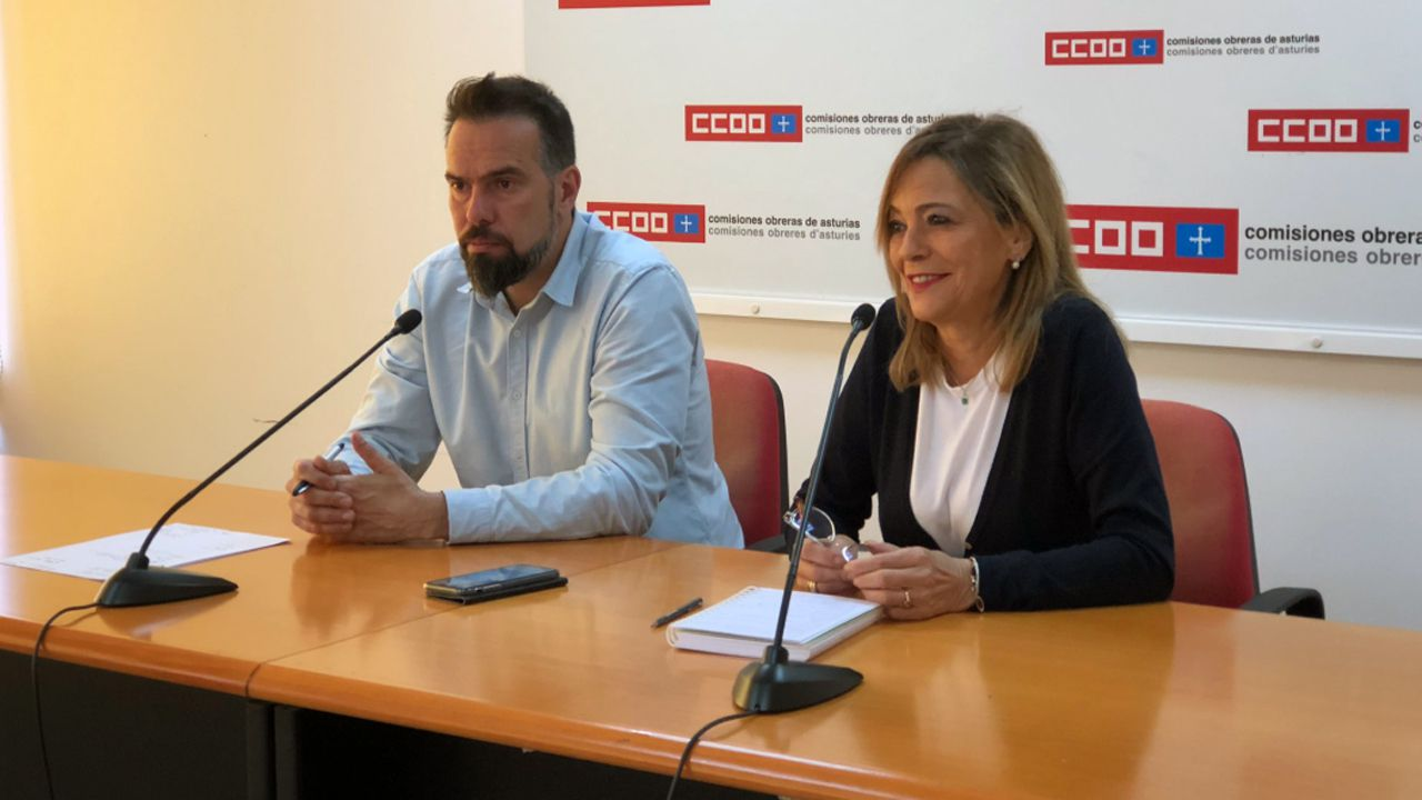 José Manuel Zapico y Ángela Vallina