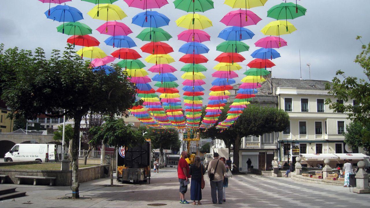 Fiesta de la bicicleta en Vilalba.Títeres Cachirulo actuará esta tarde en Sarria
