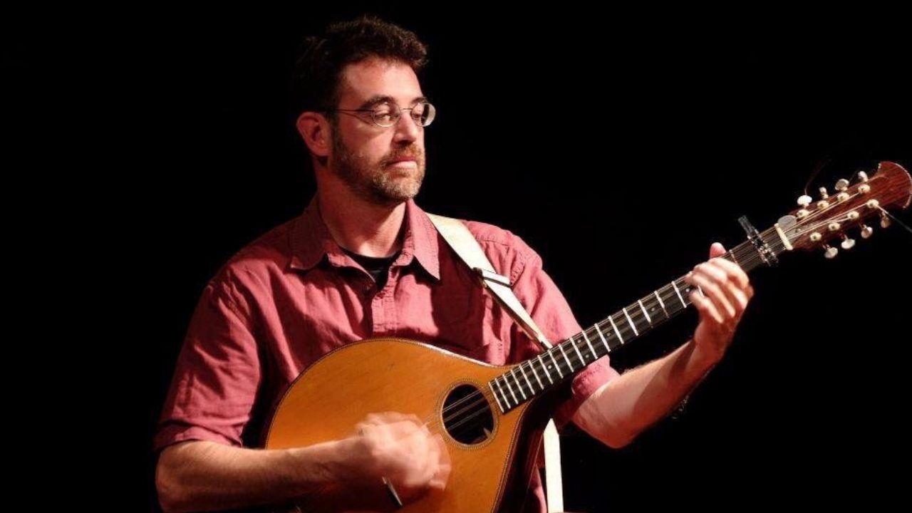 El músico Elías García