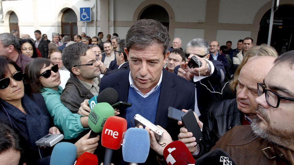 Besteiro, hoy en Lugo