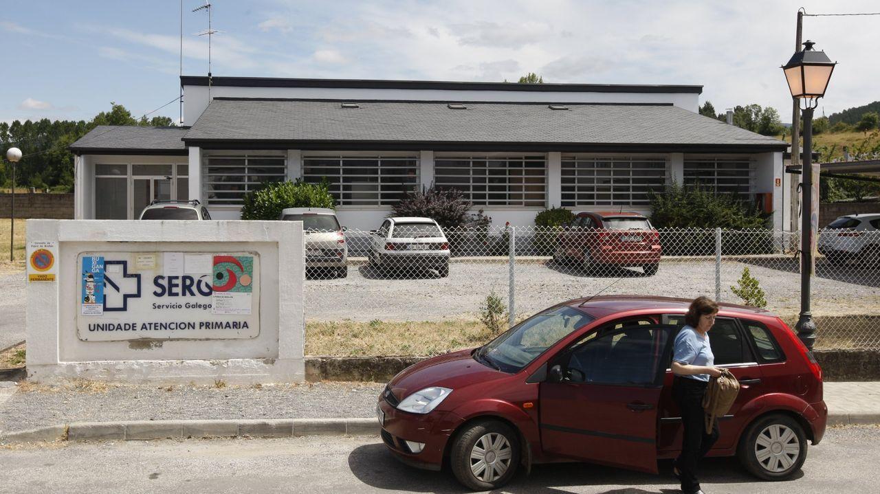 Centro de salud de A Pobra do Brollón -en foto de archivo-, donde el fin de semana se realizó un cribado en el que no se detectó ningún nuevo positivo de covid-19