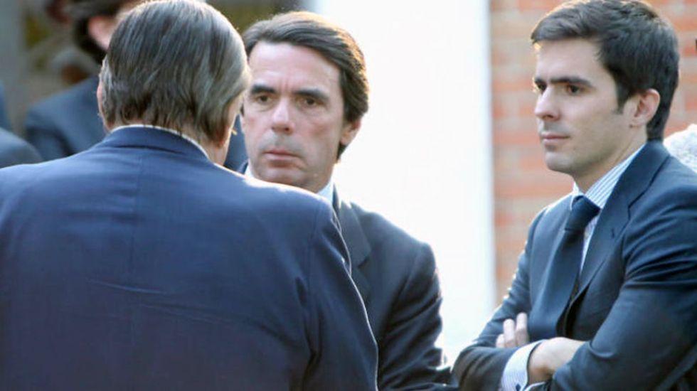 «Los salarios van a ir normalizándose».José María Aznar Botella