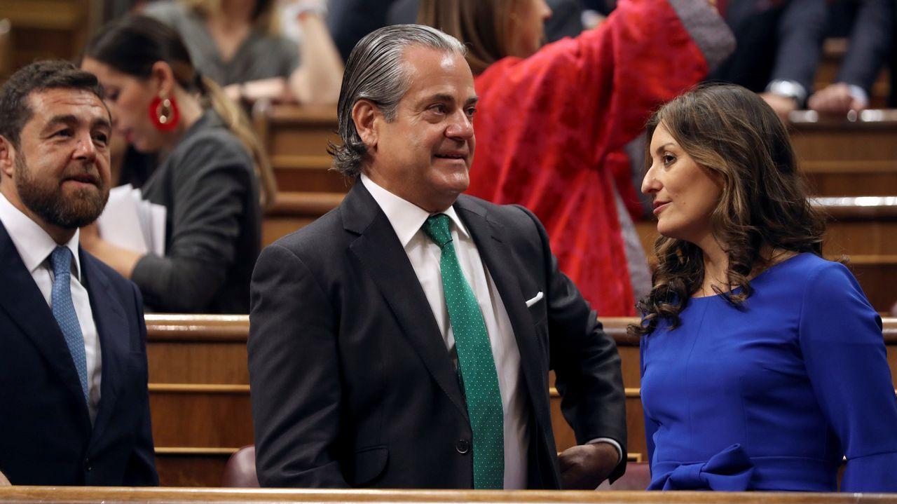 Marcos de Quinto, Sara Giménez y Miguel Ángel Gutiérrez Vivas, diputados de Ciudadanos por Madrid