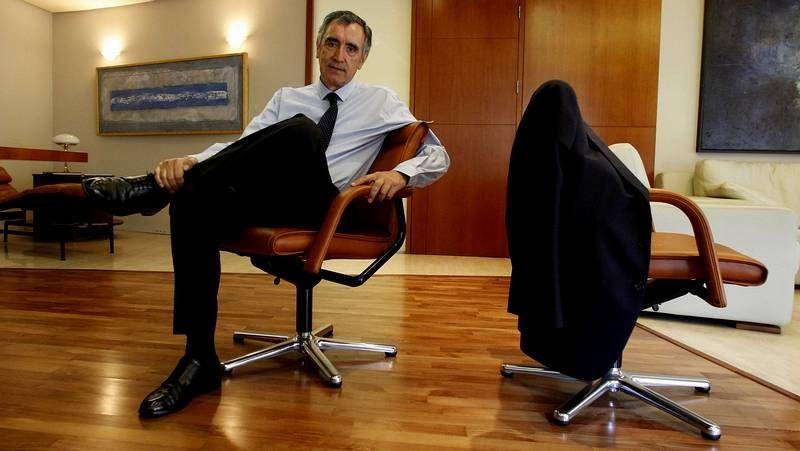 Los protagonistas de Novacaixagalicia y Novagalicia Banco.Castellano, a su llegada a los juzgados