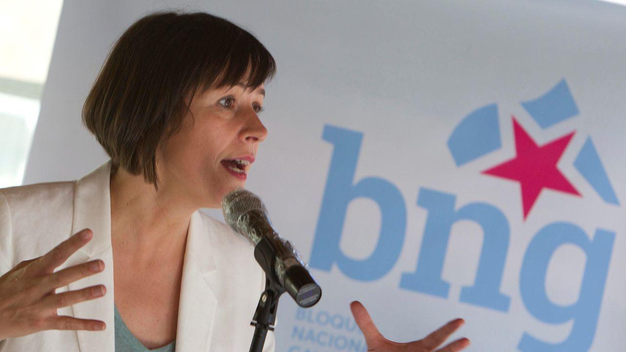 Ana Pontón, hoy en Vigo