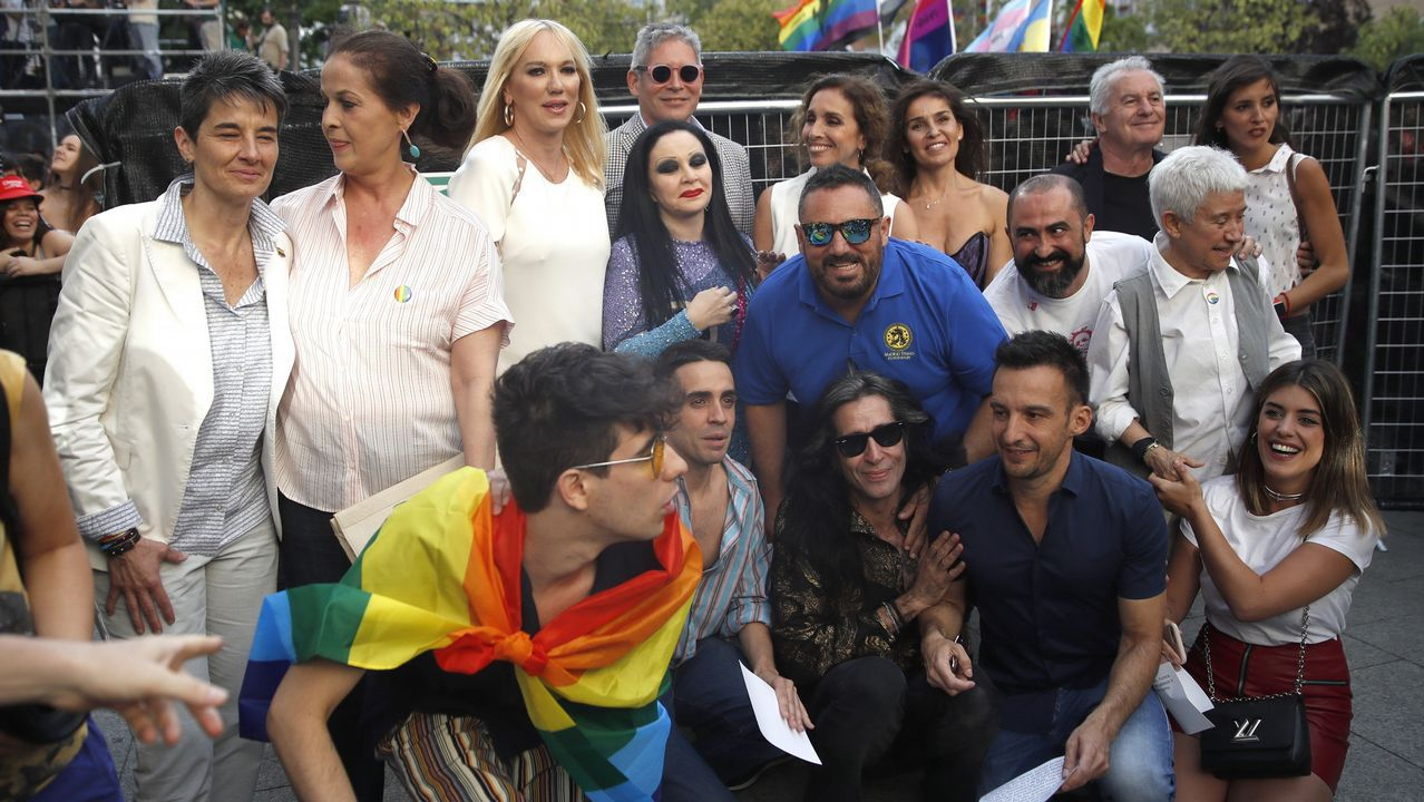 Multitudinario pregón del World Pride 2017