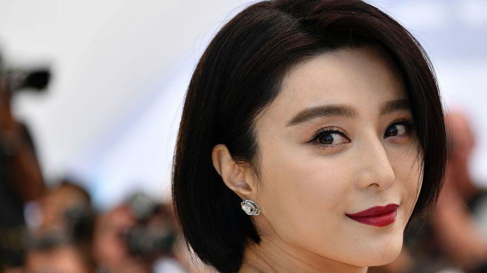 La actriz y miembro del jurado Fan Bingbing