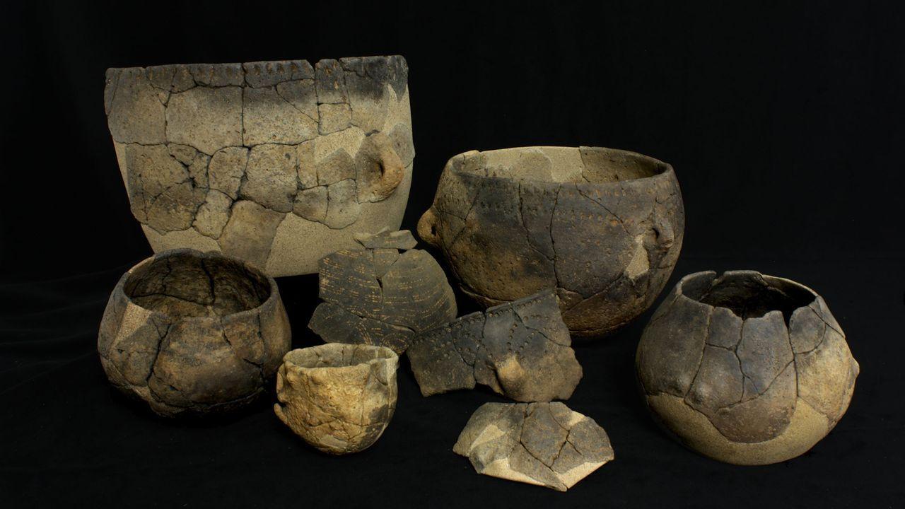 Cerámica procedente del yacimiento de Verson (Francia) analizada en la investigación