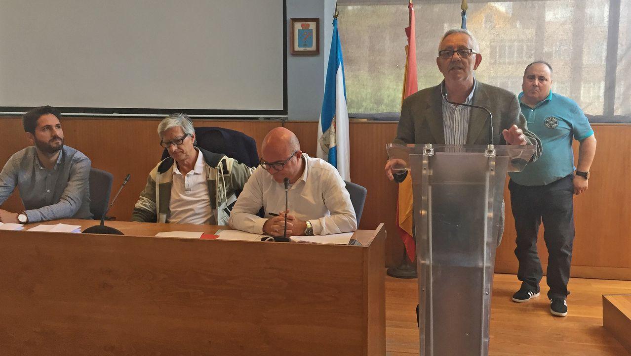 Alfredo Canteli preside el pleno del Ayuntamiento de Oviedo