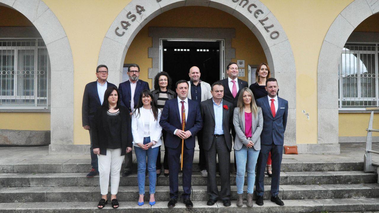 Fernando Aiello y Mónica Mezquita ganan el ironman de As Pontes