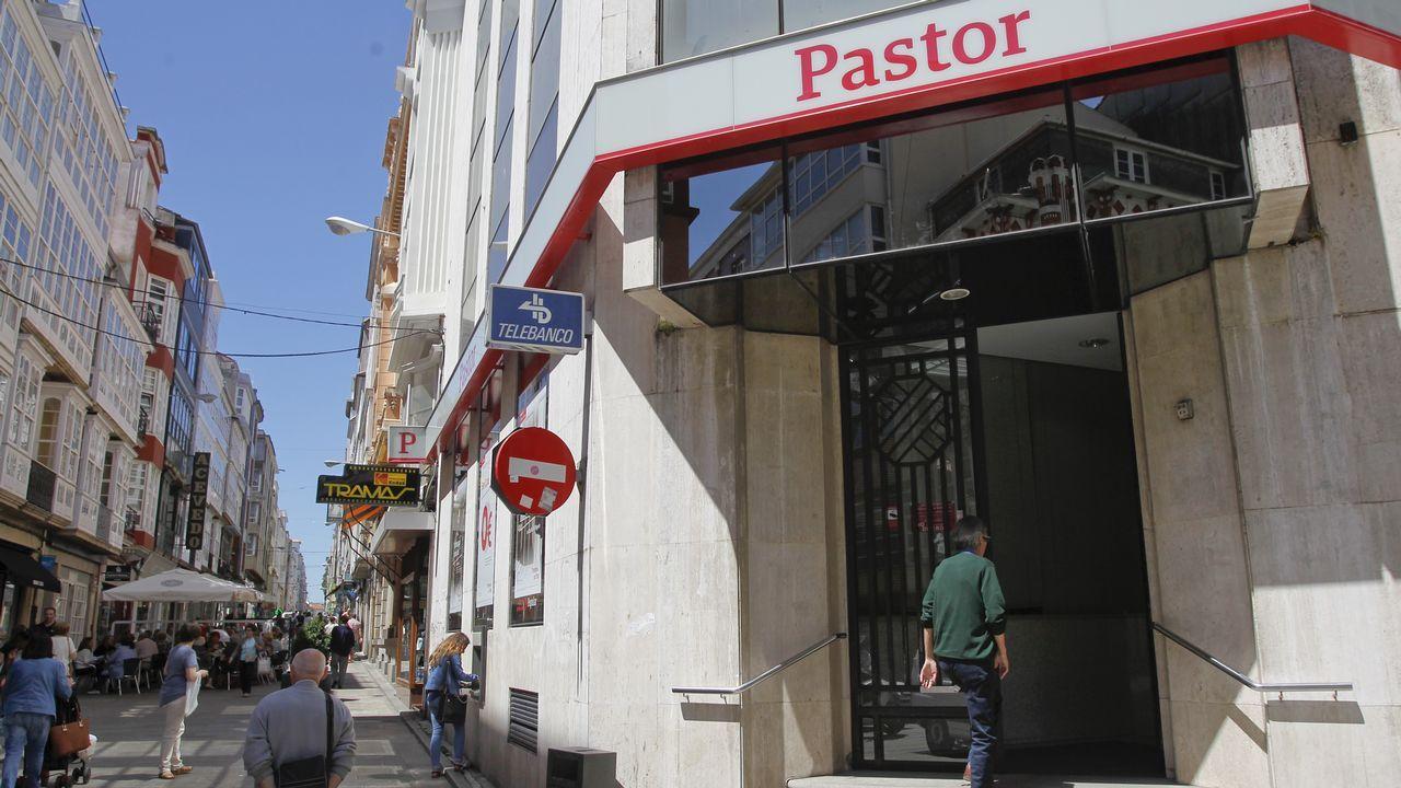 Oficina del Banco Pastor en Ferrol