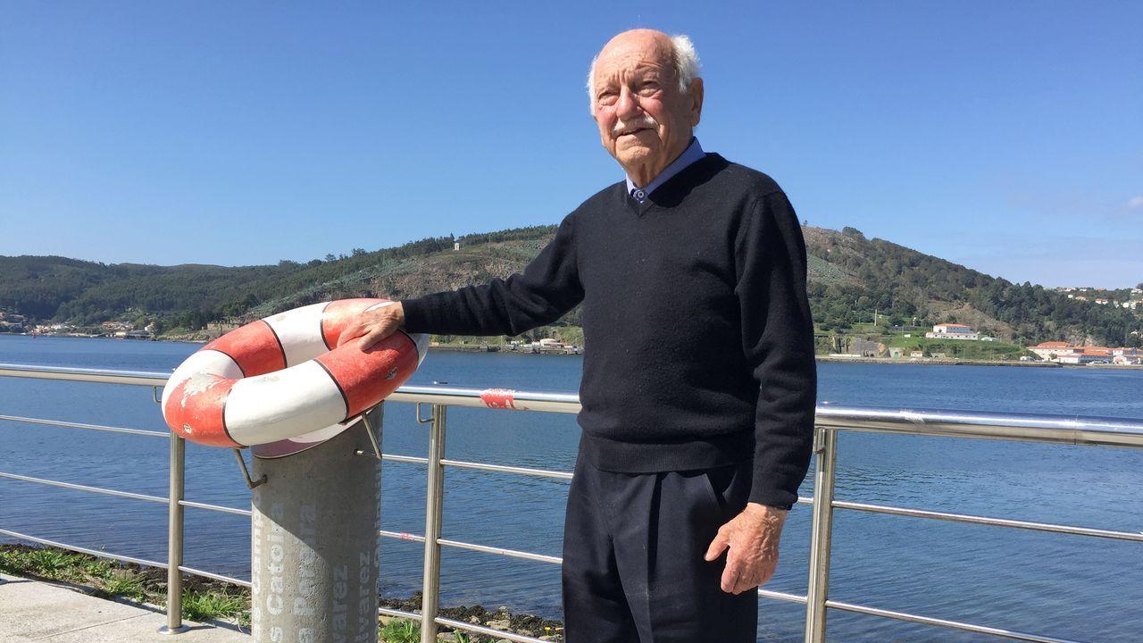 JOSE DEUS INGENIERO NAVAL DE ASTANO, 92 AÑOS