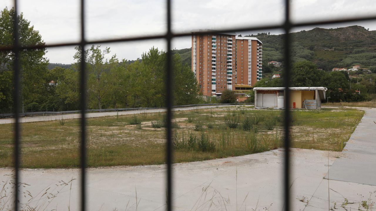 Terrenos de la vieja estación de buses, donde ahora se proyecta el geriátrico.