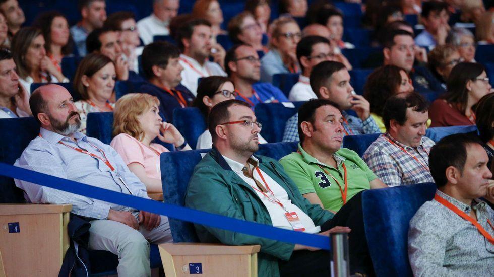 Un momento del 32 Congreso de la FSA-PSOE