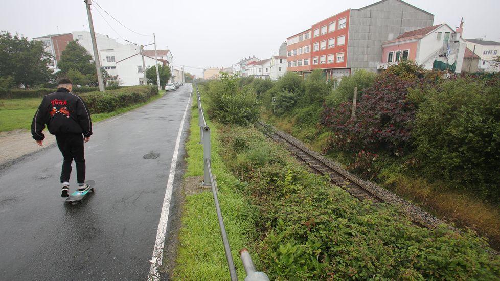 Zona del barrio de Santa Icía donde fue localizada la niña