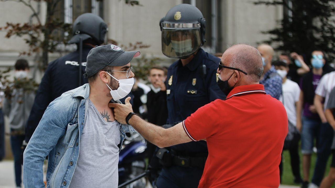 Gonzalo Caballero responde a las preguntas de los lectores de La Voz de Galicia.Incidentes tras el mitin de Vox en A Coruña el pasado mes de julio