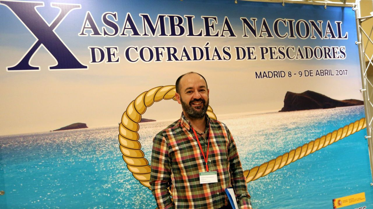 Basilio Otero, en abril del 2017, cuando se presentó por primera vez a la presidencia de las cofradías españolas