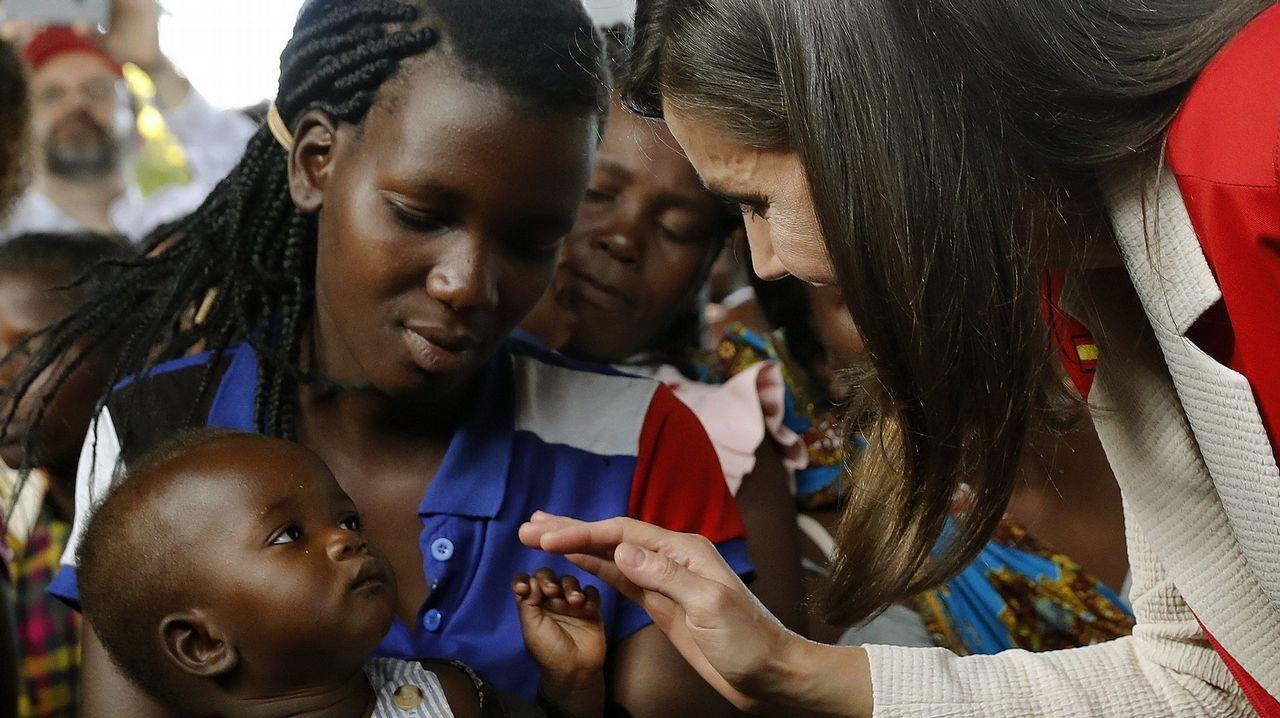 Letizia Ortiz, de viaje en Mozambique.Jurados del premio Princesa de Asturias de Comunicación y Humanidades 2019