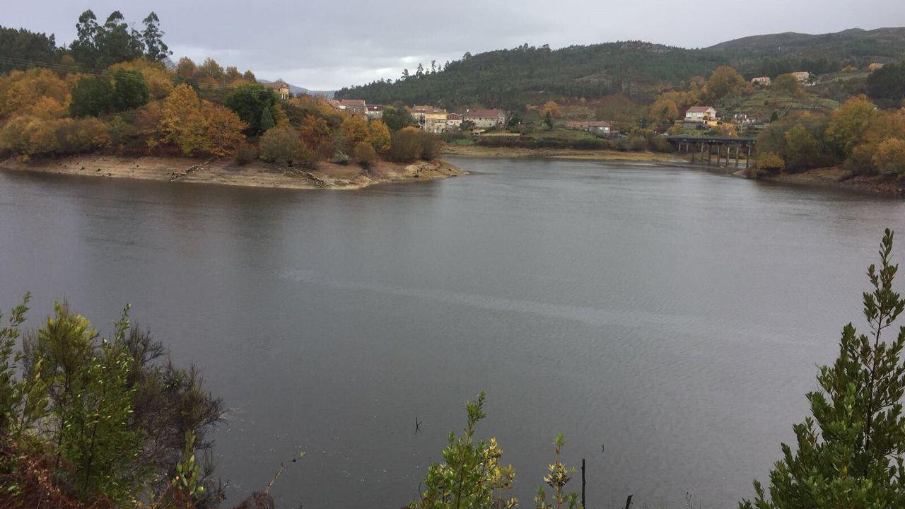 Ana da de beber a Vigo