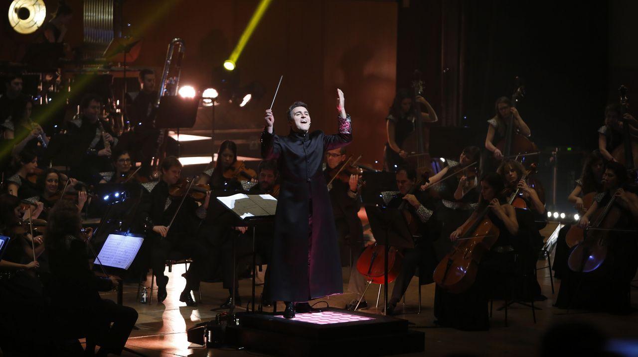 La Film Symphony Orchestra, dirigida por Constantino Martínez-Orts, en su concierto de A Coruña