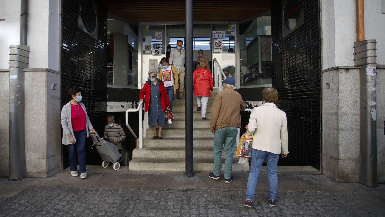 Así vive Lugo el día de San Froilán.La exposición «O fin do Camiño» llega a Guntín