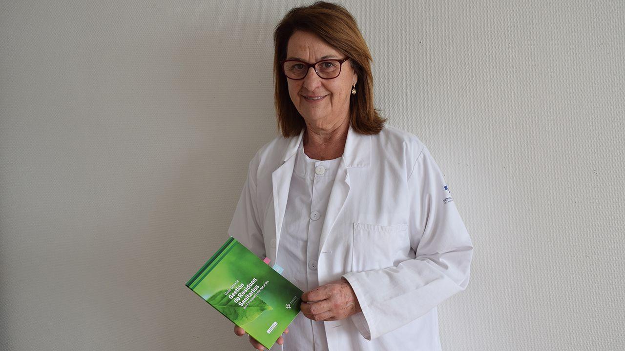 El hospital San Agustín, un referente del reciclaje.Vanesa Llaneza