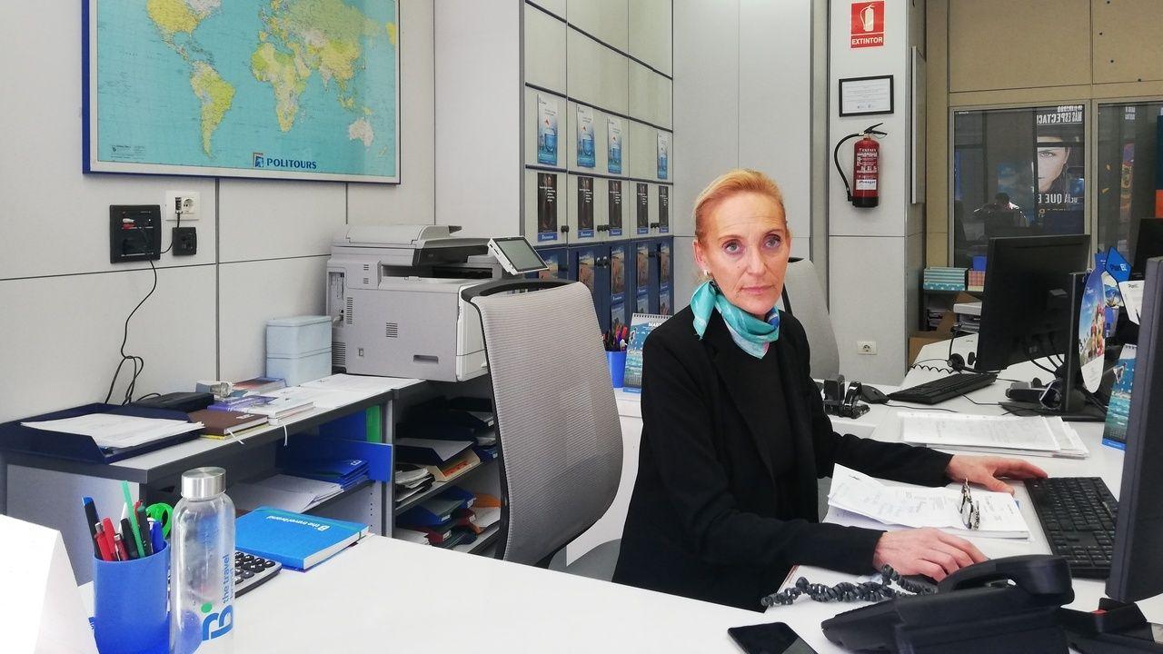 Las agencias de viajes han sido las peor paradas tras el caso de coronavirus en Ourense