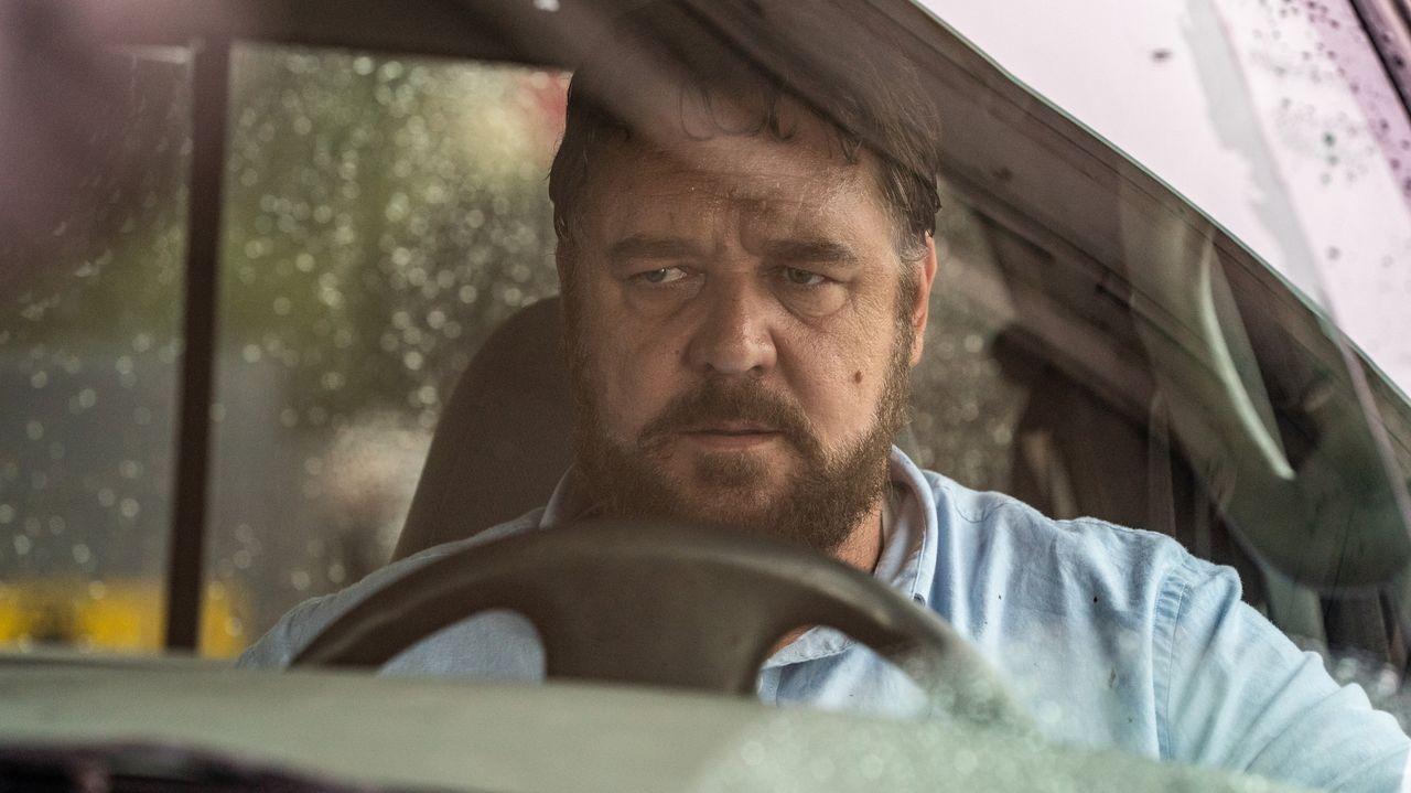 Russell Crowe, en el papel protagonista del filme «Salvaje»