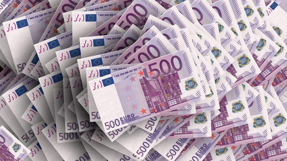 Rosa Martínez.Billetes de 500 euros