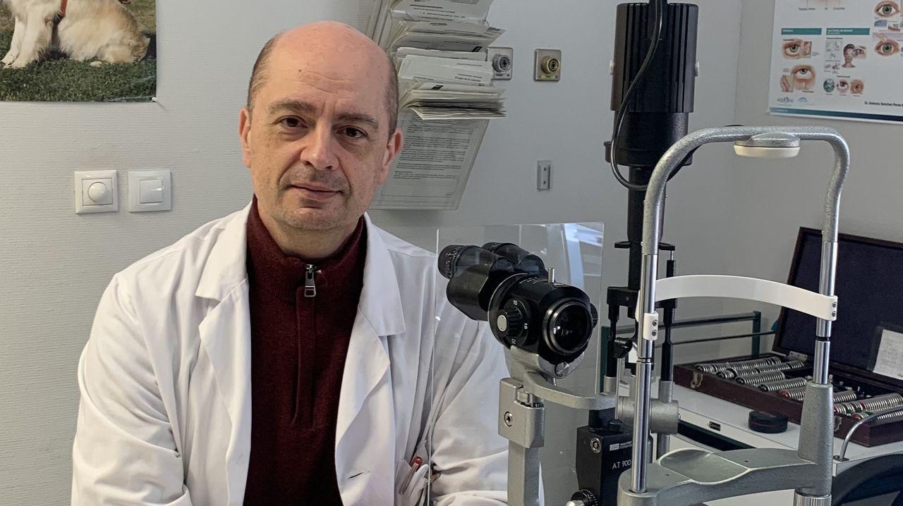 Luis Pablo Júlvez, presidente de la Sociedad Española de Glaucoma