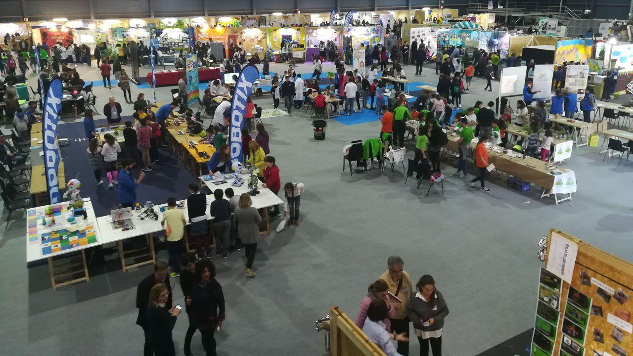 Los innovadores que diseñarán el futuro de Asturias.Alumnos en formación en la Antonio de Escaño