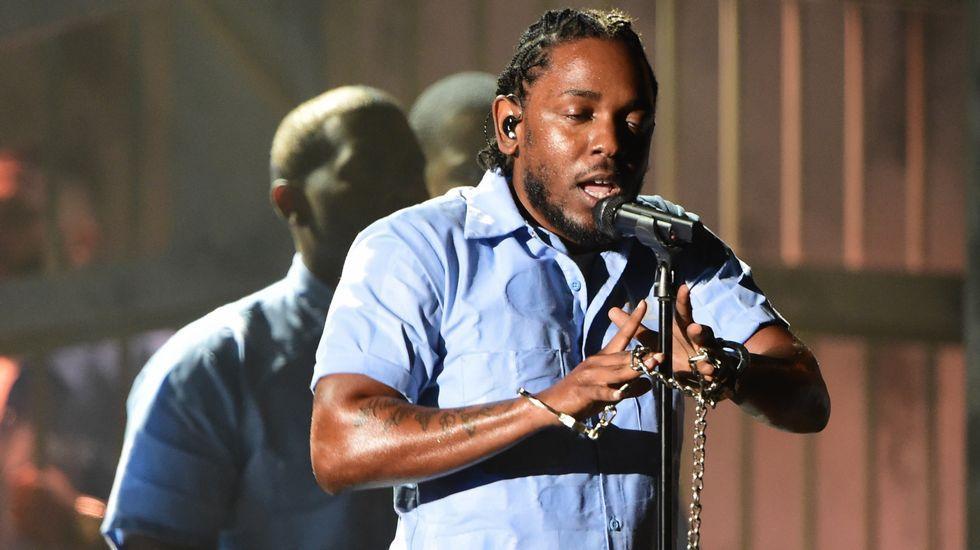 Adrián Martín y su disco «Lleno de vida».ACtuación de Kendrick Lamar durante la gala