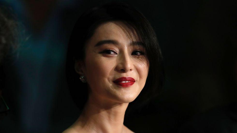 La actriz china y miembro del jurado Fan Bingbing