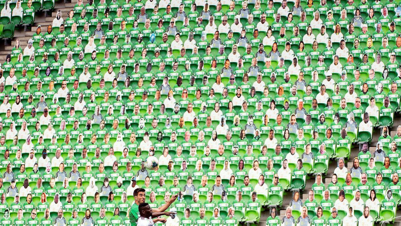 En un primer momento, en Hungría apostaron por las figuras de cartón