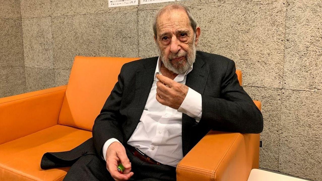 El arquitecto Álvaro Siza, en Póvoa de Varzim