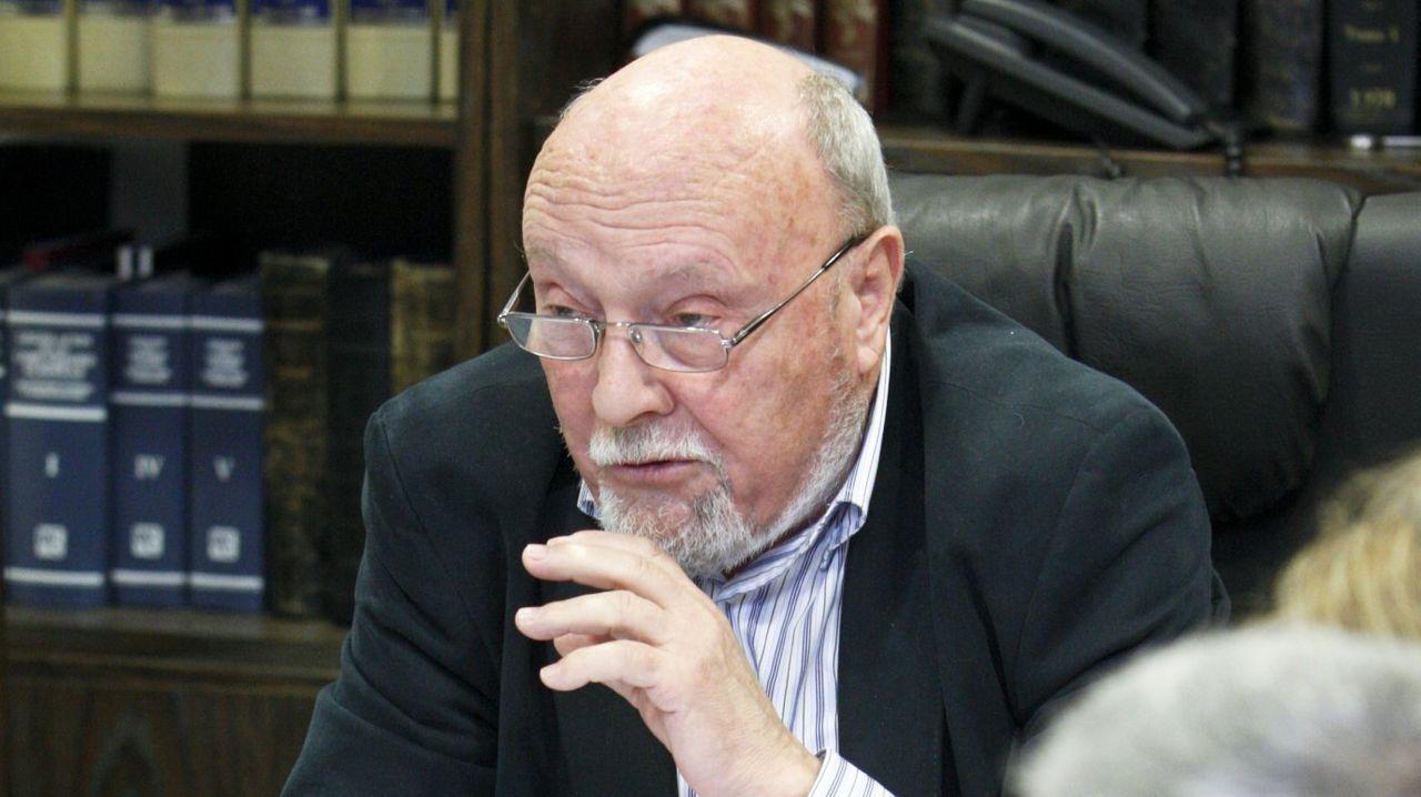 El alcalde de Monterroso, Antonio Gato