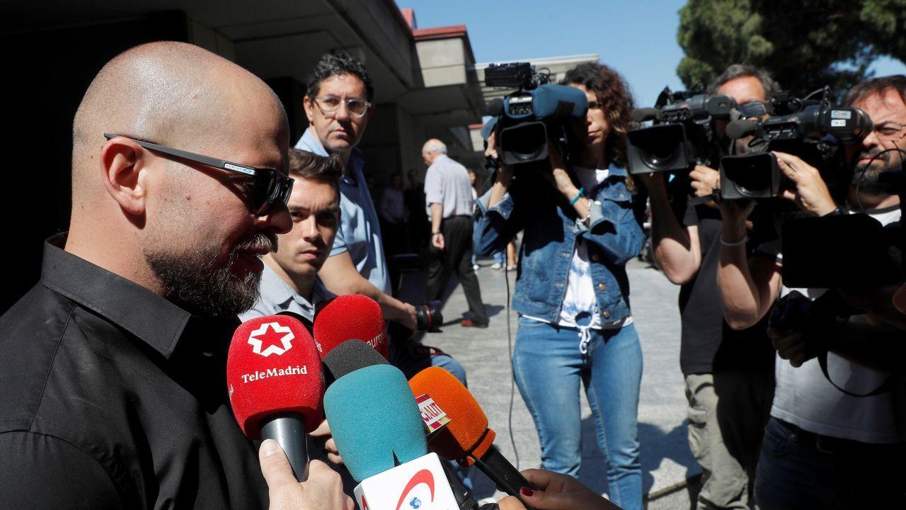 El hijo de Chicho Ibáñez Serrador atiende a los medios