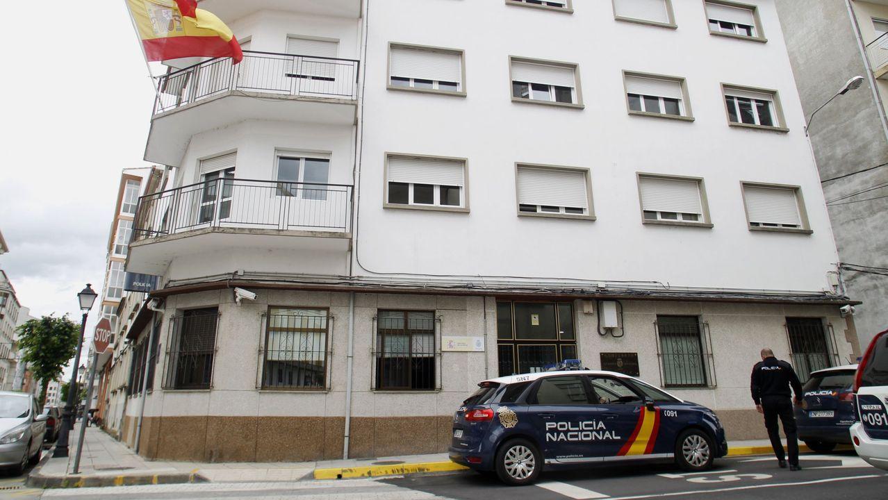 Agentes de la comisaría de Monforte llevaron a cabo la detención