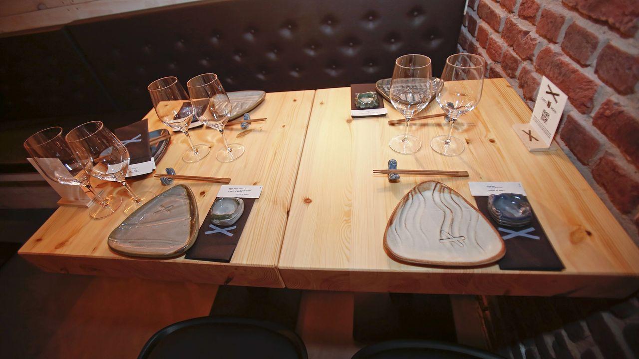 El restaurante tiene capacidad para 80 personas
