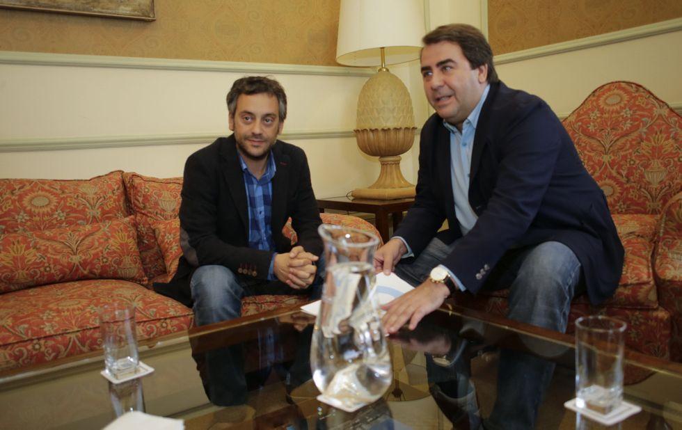 Negreira y Ferreiro se reunieron el día 2 en una ronda de contactos promovida por el aún regidor.