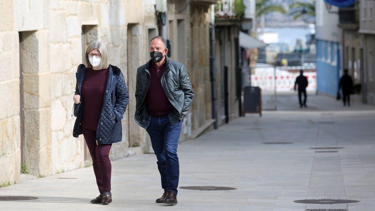 Imagen de Porto do Son, concello que no superó los dos contagiados nuevos en la última semana
