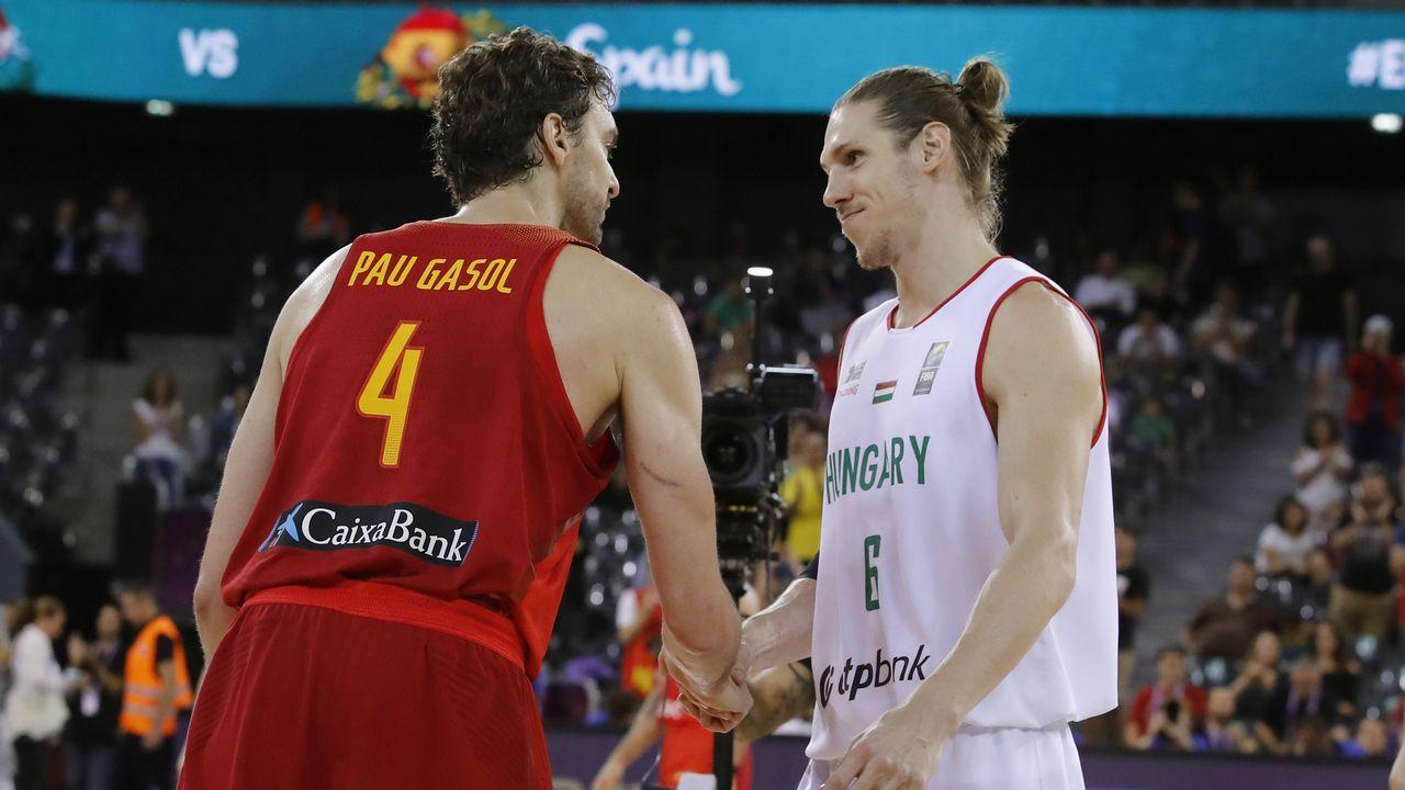Pau Gasol: «Mi deporte es de equipo, sin mis compañeros las cosas no salen».Las redes sociales se vuelcan con Galicia