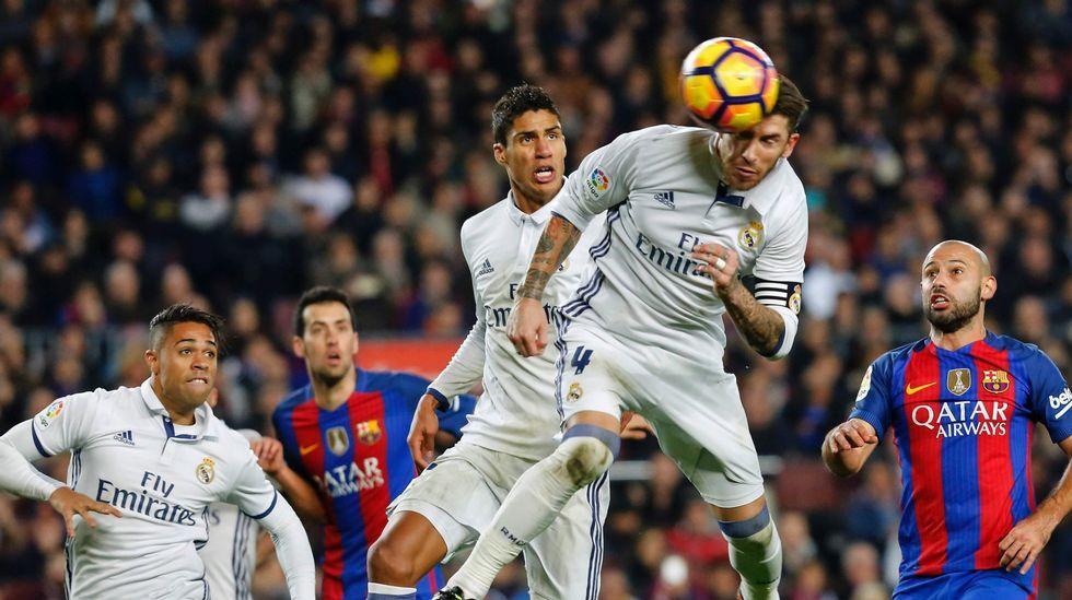 Real Madrid - Barcelona, en imágenes