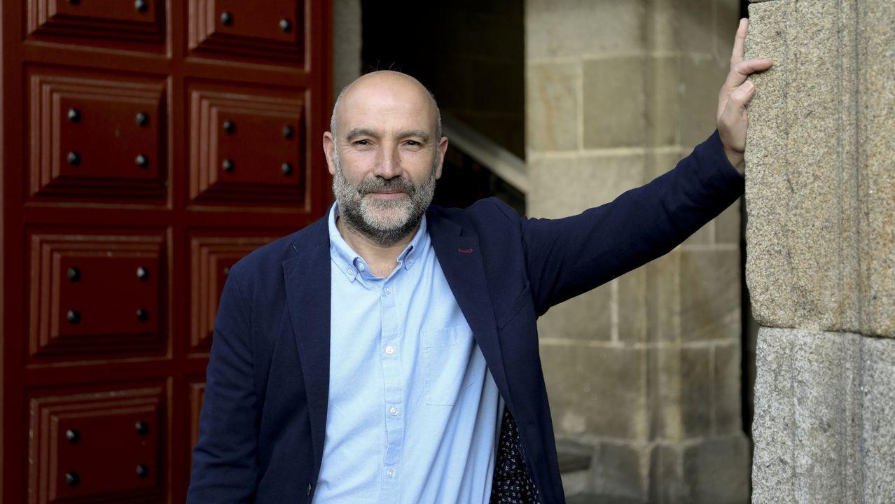 Néstor Rego, candidato do BNG pola Coruña nos comicios do 10N