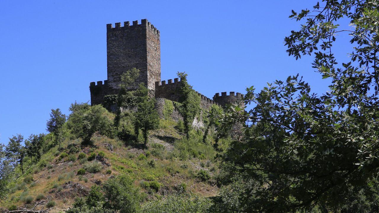 O Castelo de Doiras, en Cervantes