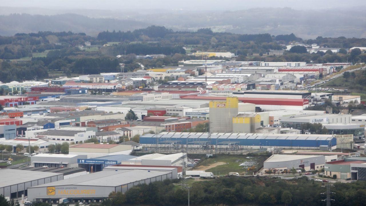 El polígono industrial de O Ceao