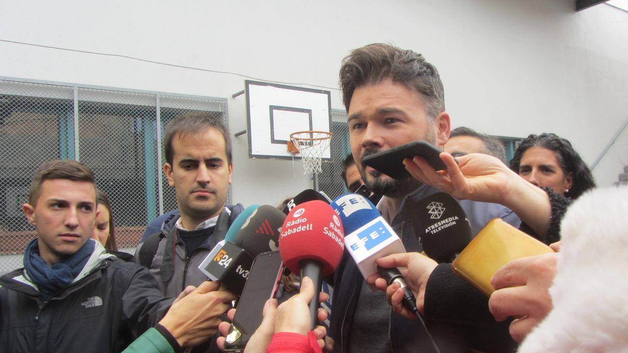 El candidato de ERC al Congreso, Gabriel Rufián