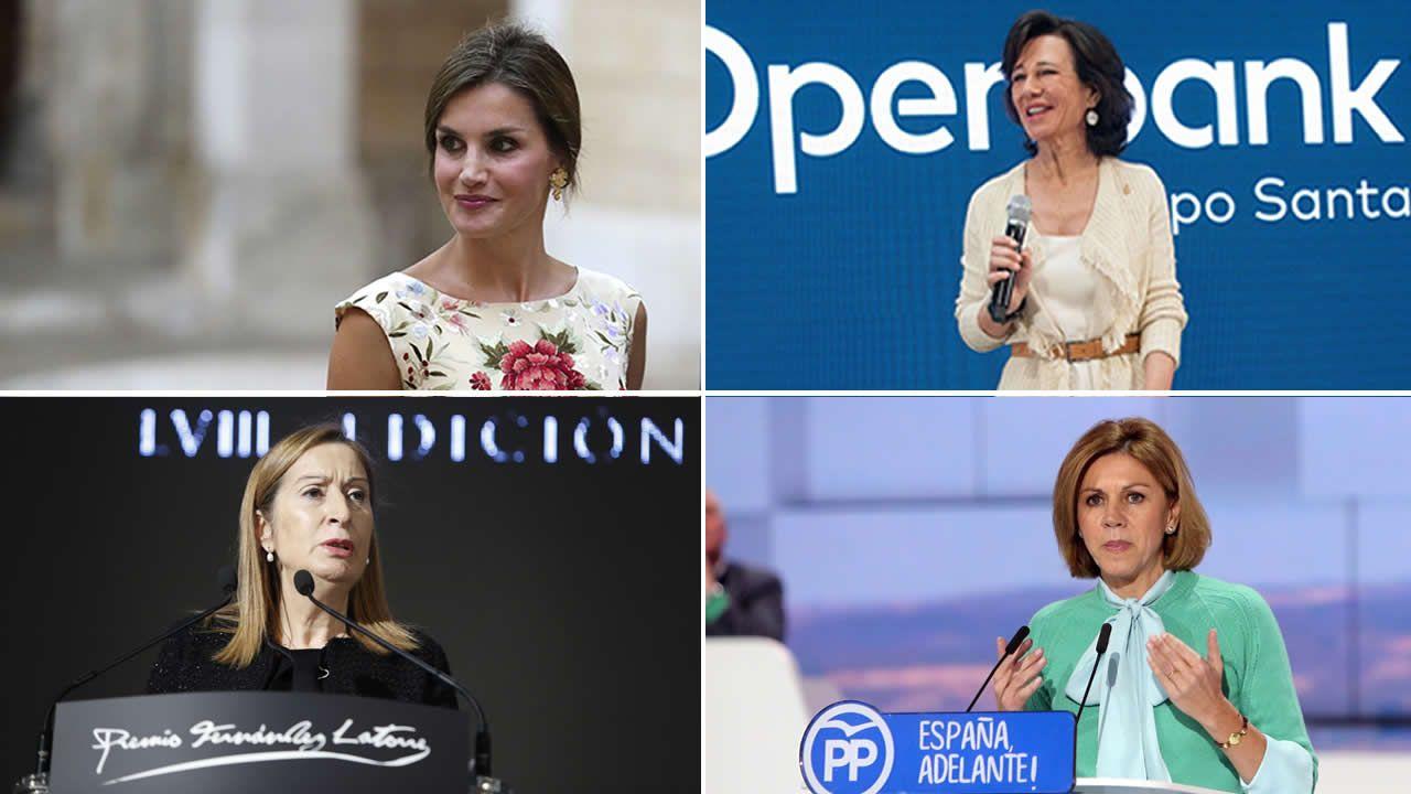 Algunas de las mujeres más poderosas en España.Amancio Ortega