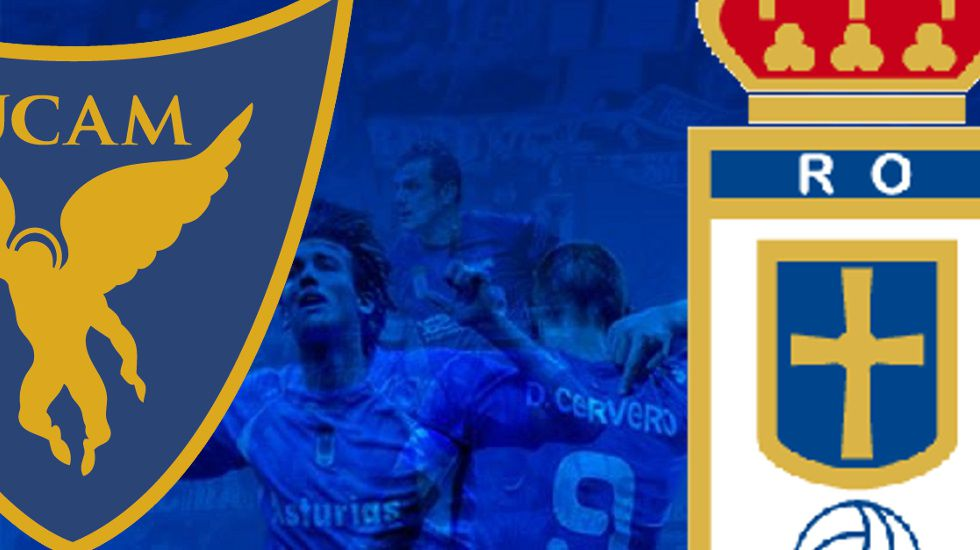 Los jugadores del Real Oviedo celebran el tanto de Verdés